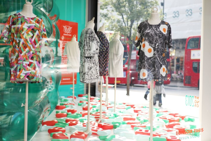 Selfridges Launches BYT - Window of Exclusive TShirts