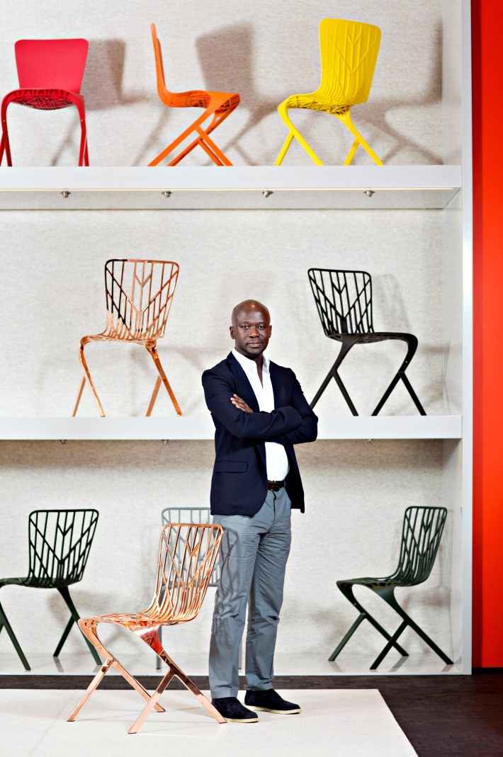 David Adjaye and the Washington Collection - Photo by Dorothy Hong